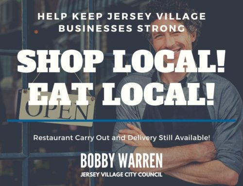 Support Local Jersey Village Restaurants!